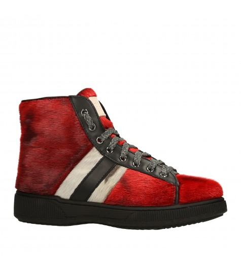 ANKLE SNEAKERS RED