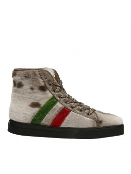 ANKLE SNEAKERS NATURAL ITALY