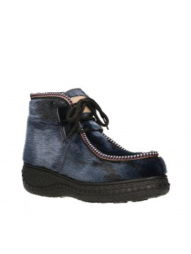 INUIT ANKLE BOOT BLUEBERRY