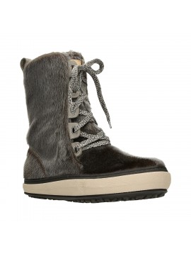 LACE UP BOOT GRAPHITE
