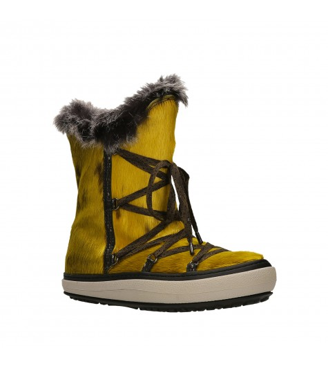 SHORT SNOW BOOT YELLOW