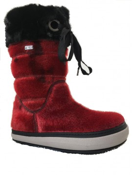 LUXURY SNOW BOOT RED