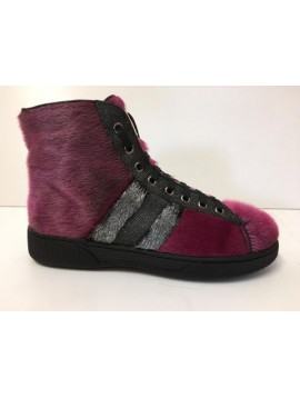 ANKLE SNEAKERS PINK