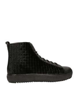ANKLE BOOT BLACK LASER