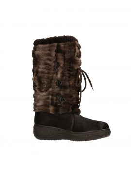 LUXURY FOX BOOT  BROWN R