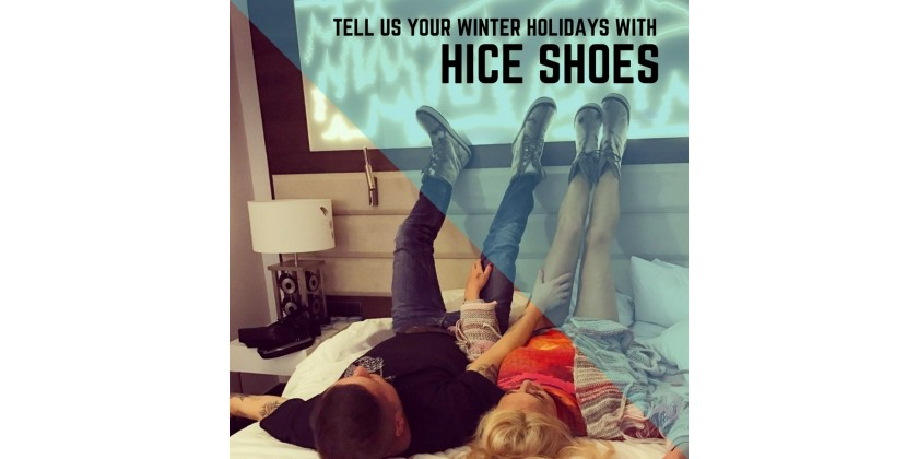 Tell us your Winter Holidays with H:ce Shoes and Win!